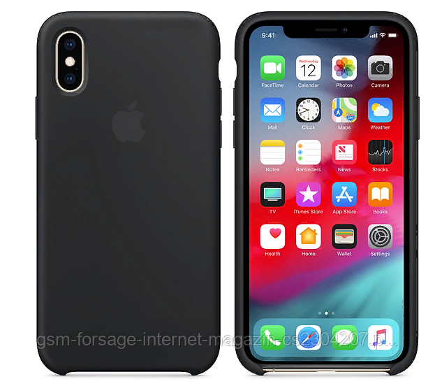 Чехол для iPhone X Original Black