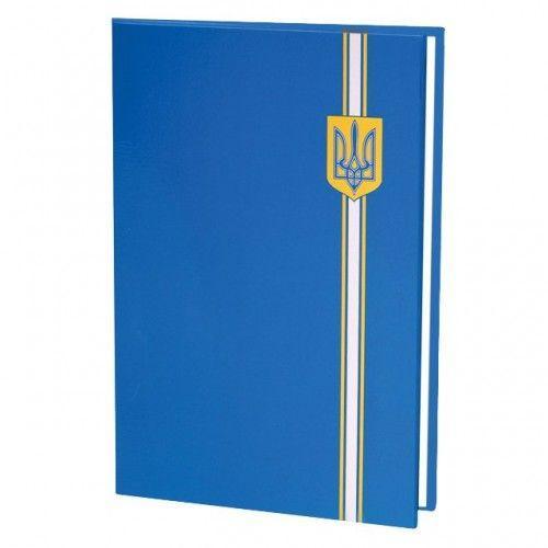 Папка на подпись, полноцветная, синяя E30901-02