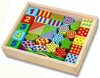Игровой набор для малышей деревянные фигурки с нитью Viga Toys 58505, фото 1