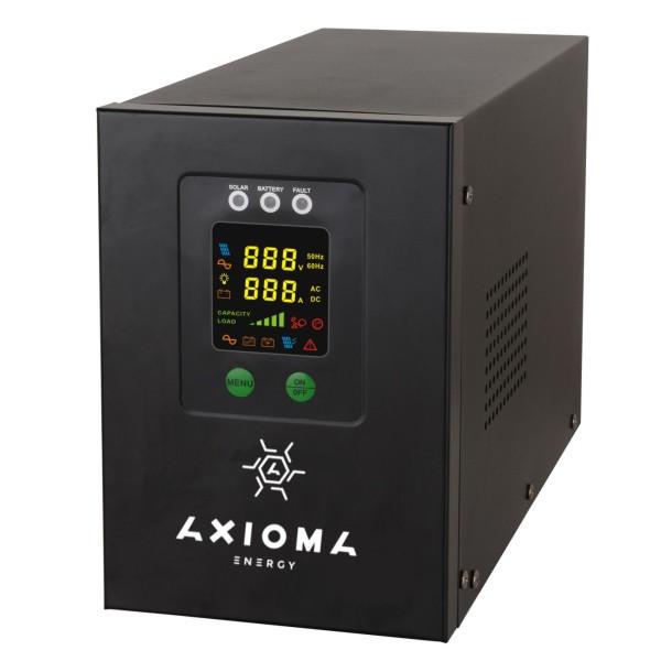 ИБП+стабилизатор 800ВА (500Вт), 12В + MPPT контроллер 20А 12В, AXEN.IS-800