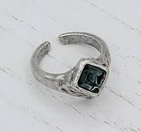 Кольцо цельнолитое Квазар монтана под серебро ТМ Скифская Этника