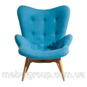 Кресло мягкое Флорино голубое