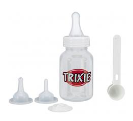 Набор для кормления с ложкой,120ml, прозрачный/белый
