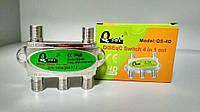 Комутатор DiSEqC Q-sat QS-4D 4х1, фото 1