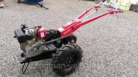 Тяжелые мотоблоки-гибриды Булат с двигателями Weima