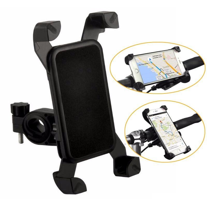 Универсальный велосипедный держатель для телефона на руль CH-04 черный