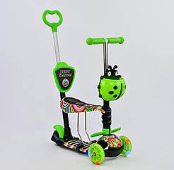 Самокат Best Scooter 33650 Салатовий 5в1 Mini 74072