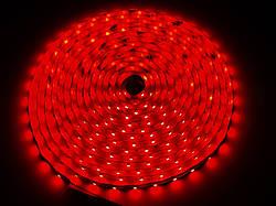 SMD 3528 светодиодная лента 5м Red 300 диодов влагозащищенная