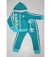 Детский спортивный костюм в стиле Adidas на рост 80-140 см