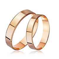 Обручальное кольцо классическое широкое