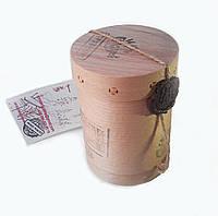 Чорний гранульований Іван-чай з трояндою високий тубус 80 грам