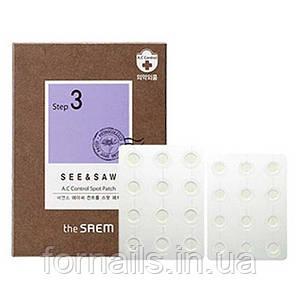 Патчи для проблемной кожи The Saem See & Saw A.C Control Spot Patch