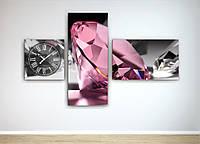 Часы Розовый бриллиант