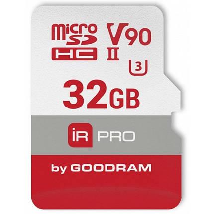 Карта памяти Goodram microSDHC 32GB IRDM PRO UHS-II U3 Сlass 10 (IRP-M9BA-0320R11) , фото 2