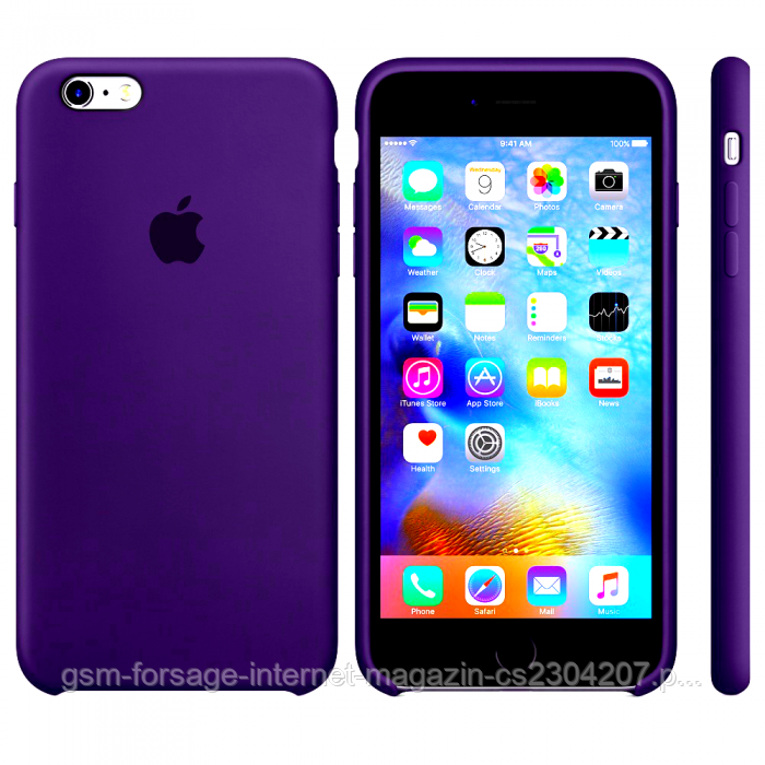 Чехол для iPhone 6 / iPhone 6S Original Violet