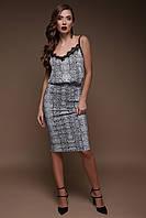 Юбка с завышенной талией,стильные молодежные юбки ,юбка питон , юбка под змею,Женская одежда c 3d принтами