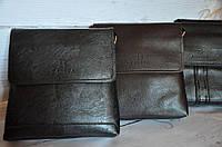 Мужская сумка через плечо BALIYA, эко-кожа