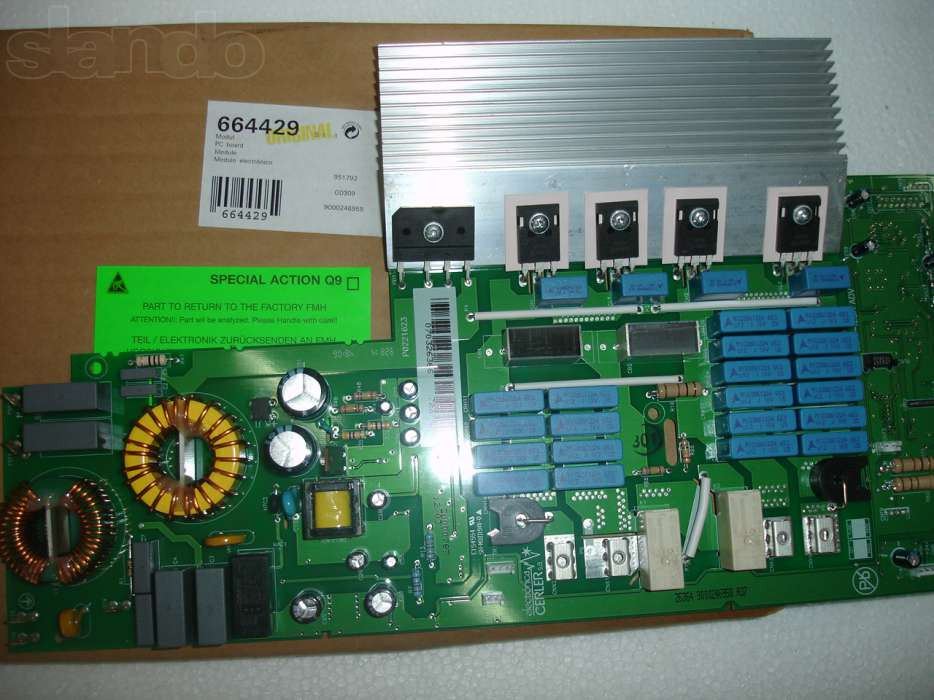 Модуль управления индукционной панели BOSCH/SIEMENS 664429