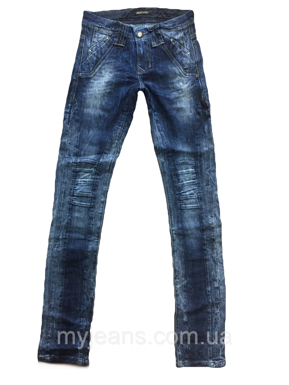7cccbe351d5 Купить женские джинсы синий Омат 9570 с бесплатной доставкой по ...