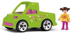 Машинка MultiGO С садовником (23216)