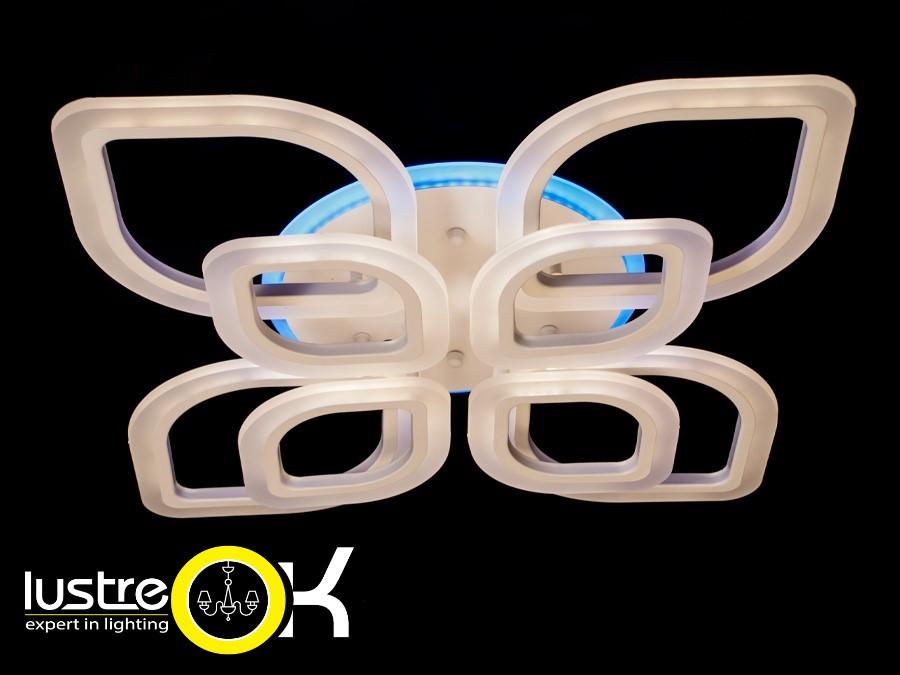 Люстра светодиодная с пультом управления 1130/4+4 LED dimmer