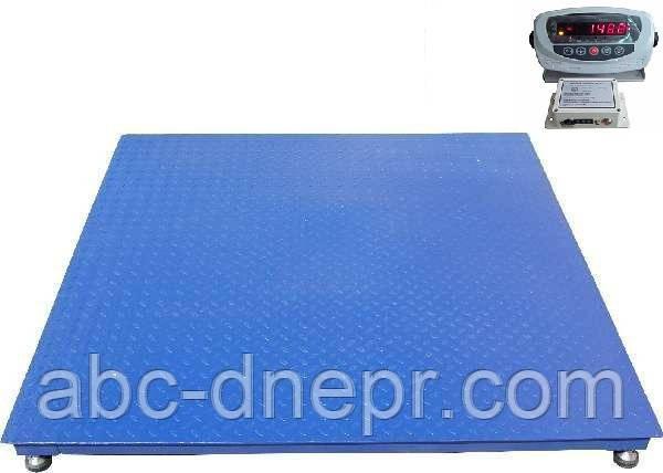 Весы платформенные  беспроводные 1250х1250 мм 1500 кг