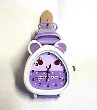 Дитячі годинник, кварцові бузкові