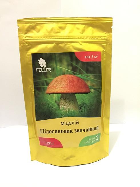 Мицелий грибов ПОДОСИНОВИК обыкновенный,100 г (лучшая цена купить оптом и в розницу)