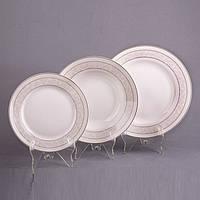 Набор тарелок 18 предметов Счастье 440-010-1