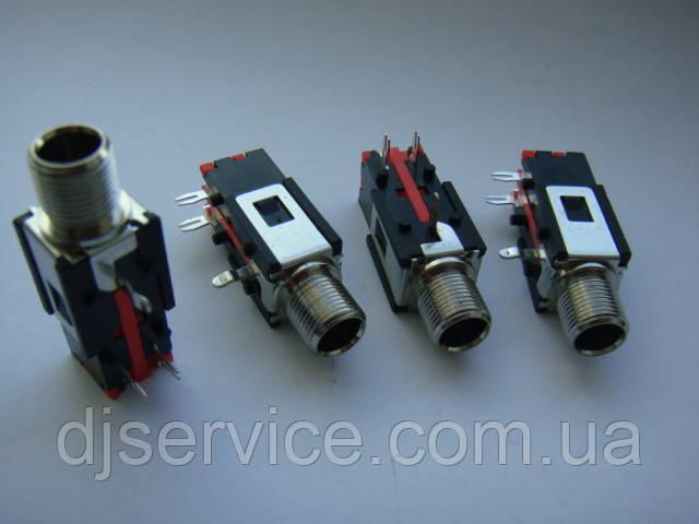 Разьем 6.35 jack для Korg, Yamaha WZ167701 THR5A & THR10A, Roland ME70, Kurzweil K1000, K1000SE, K1200 1/4inch