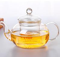 Cтеклянный заварочный чайник, 1000 мл, фото 1