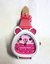 Дитячі годинник, кварцові малинові