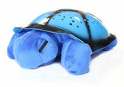 Ночник-проектор черепаха, голубой