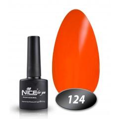 Гель-лак Nice for you № 124 (рыжий), 8,5 мл