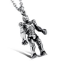 """Кулон """"Робот"""" из нержавеющей стали, фото 1"""