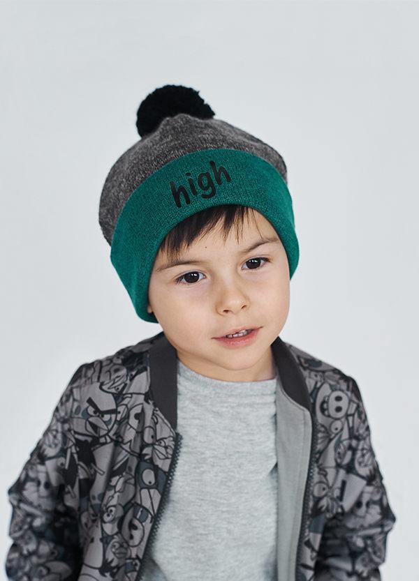 Детская шапка МЕЙНАРД для мальчиков  оптом размеры 48-50-52