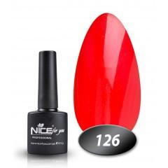Гель-лак Nice for you № 126 (терракотово-бордовый), 8,5 мл