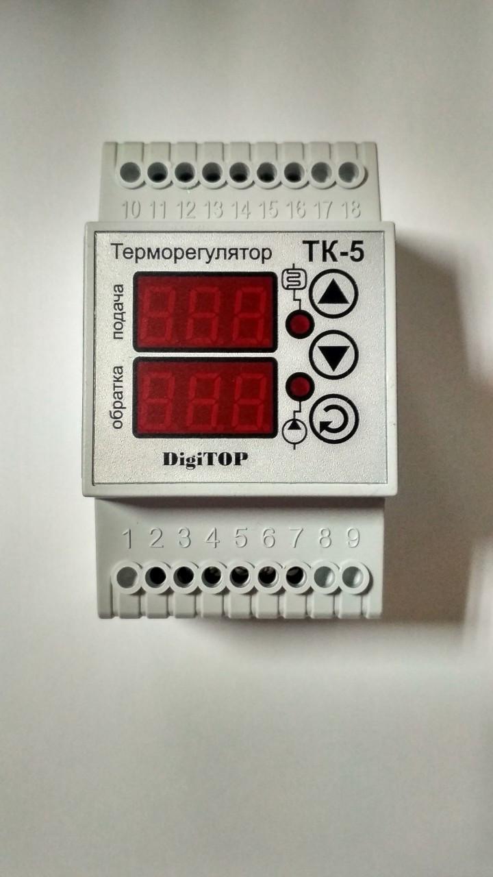 Терморегулятор ТК-5 (двухканальный)