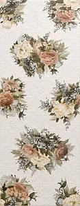 Плитка ARABESCO стена белая (рисунок) / 2360 131061-1