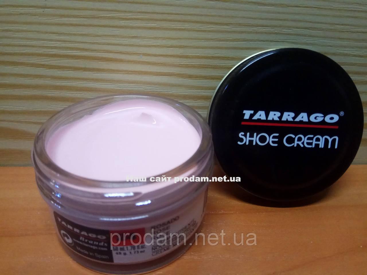 Крем для обуви Tarrago 50 мл цвет розовый