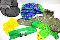 Секонд хенд микс товаров для отдыха и туризма: палатки, надувные матрацы, сумки, дождевики Оптом от 25 кг
