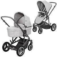 Универсальная коляска 2 в 1 ABC Design Catania 4 Air Woven Grey, цвет  серый, фото 1
