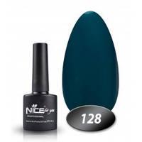 Гель-лак Nice for you № 128 (изумрудный), 8,5 мл