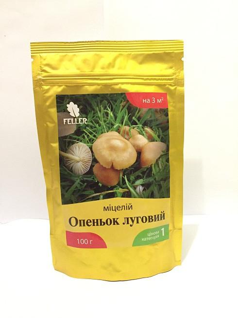 Мицелий грибов ОПЕНОК луговой, 100 г (лучшая цена купить оптом и в розницу)