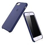 Силиконовый чехол на Айфон Silicone Case На Любой iPhone 5 / 6 / 6 Plus / 7 / 7 Plus / 8 / X / XS / XR /XS Ma, фото 2