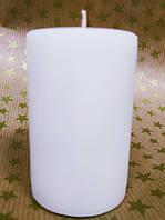 СВЕЧА цилиндр белая 7см(диам.4,6см)