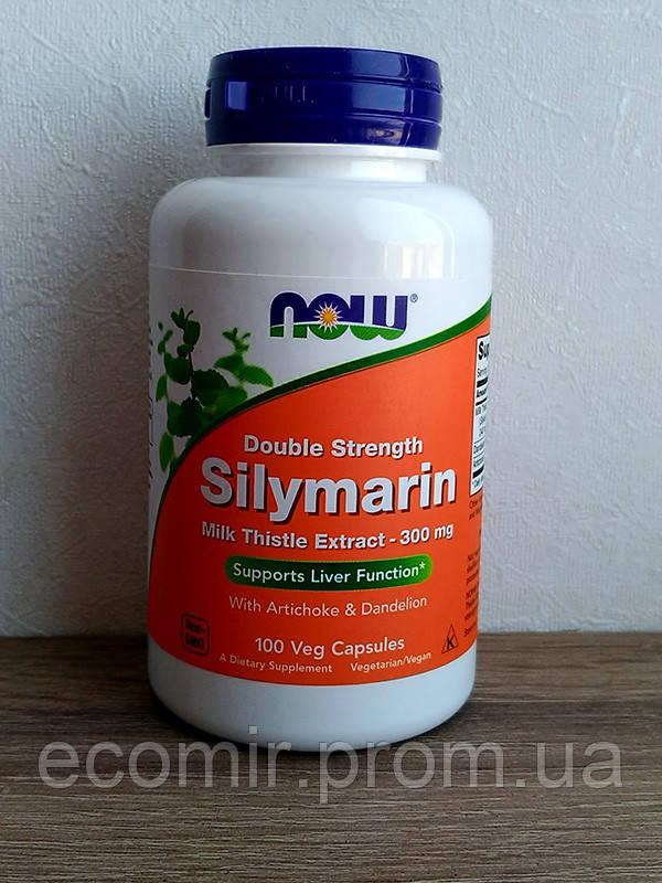 Силимарин, Now Foods  (300 мг/ 100 капсул)
