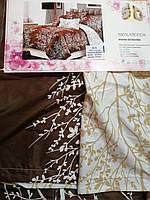 Стильный постельный комплект 180*200 (Двухспальный) 5Д