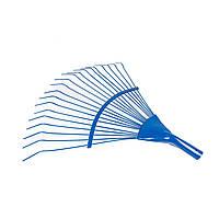 Грабли веерные Дана проволочные синие