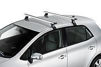Багажник Nissan Navara D40 2005- на крышу без рейлингов